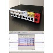 DataCapsule-Evo 4-csatornás adatgyűjtő és elemző rendszer