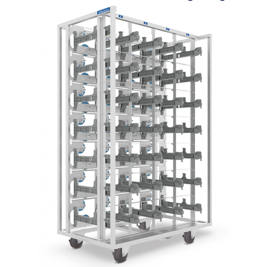 Sani-Rack, Steam or Dry Heat* cage sterilization